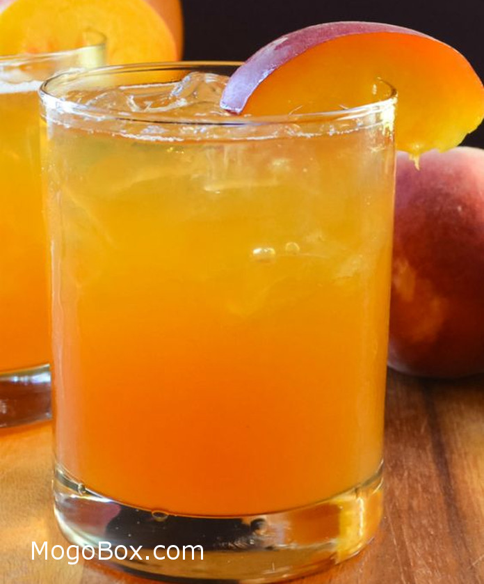 Peach whiskey iced tea mogobox for Hot tea with whiskey